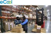 -18℃ Frozen Food Storage Warehouses For Transfer Center With Remote Monitor System