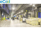 Frozen Pasta Processing Frozen Food Warehouse , Steel Structure Cold Food Storage