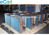 Custom Air Cooled Cooling Coil /  Condenser Or Evaporator Parts Fin And Tube Evaporator
