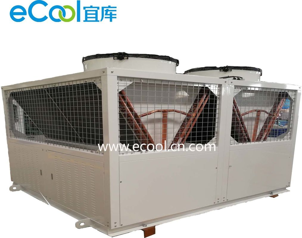 44HP R404a Cooling Compressor Condensing Refrigeration Unit For Industry Freezer