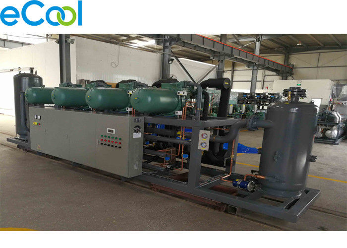 Worry Saving Refrigeration Compressor Unit For Large Cold Storage Room