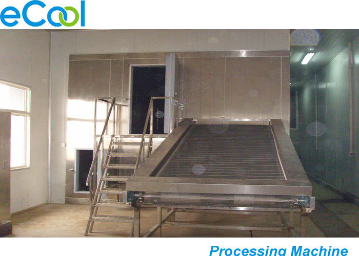 Steel Sheets Multipurpose Cold Storage , Cold Room Warehouse With Blast Freezer Machine