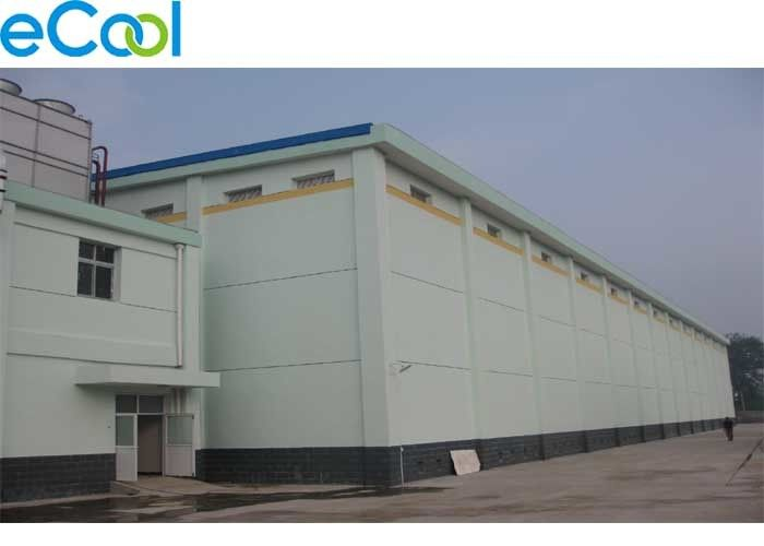 Green Vegetables Processing Multipurpose Cold Storage Steel Structure 3000 Tons
