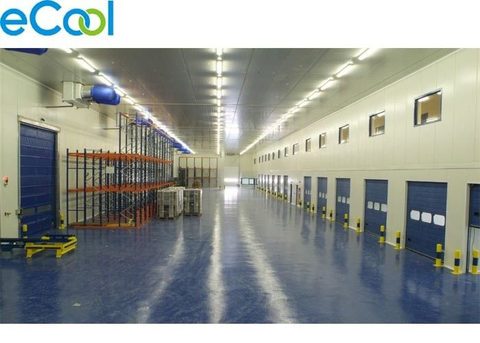 Custom Steel Structure Cold Room Warehouse For Large Logistics And Distribution Center