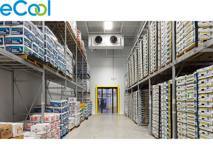 0 C ~ 5 C PUR Board Insulated Cold Room Warehouse For Packed Diary Products