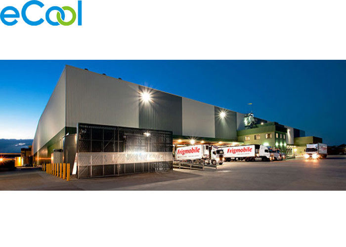 Energy Saving Frozen Food Storage Warehouses With Manual Sliding Door