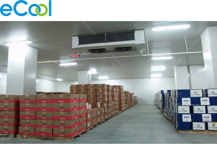 Insulated Panel  Assembling Refrigerated Warehouse / Air Cooled Cold Room Storage