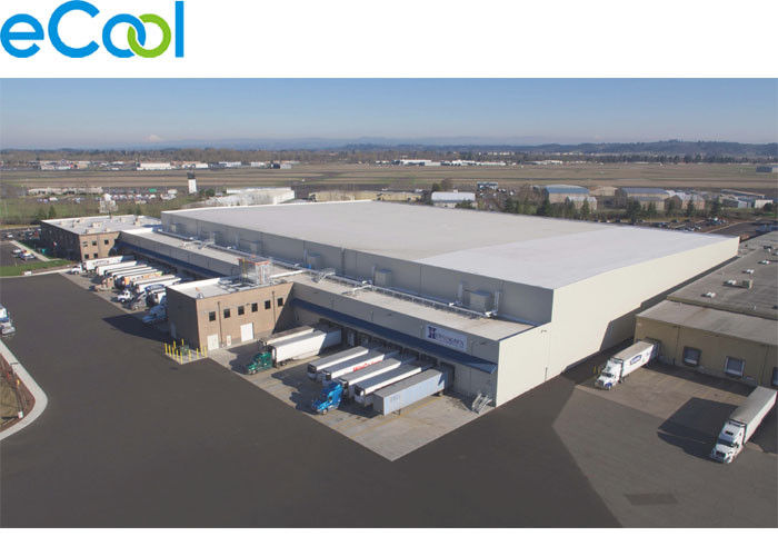 20000 Sq . Ft Distribution Center Cold Room Warehouse For Grocery Store And Supermarket