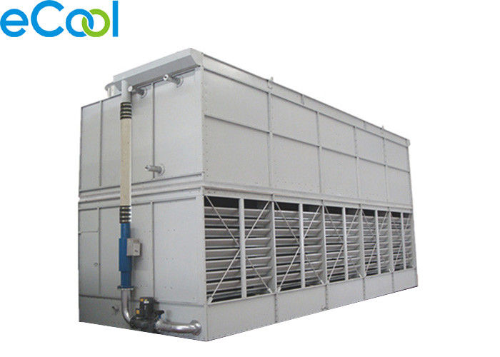 3000kW Cold Storage Equipment , 4 Fans Refrigeration Evaporative Condenser