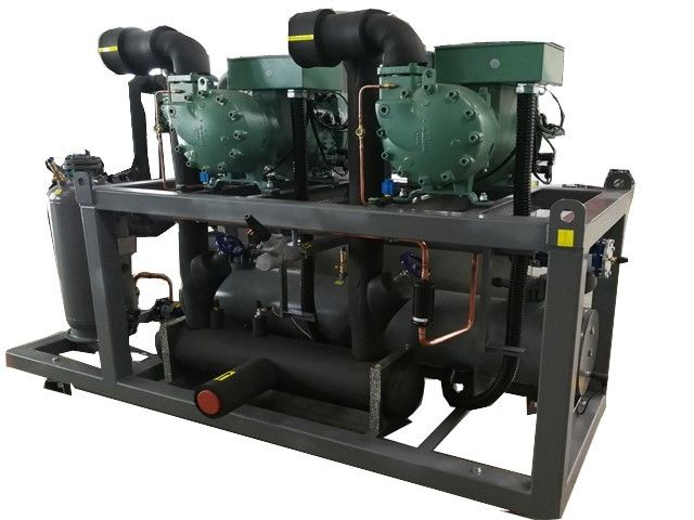 Screw Industrial Refrigeration Compressors , Compressor Used In Refrigerator