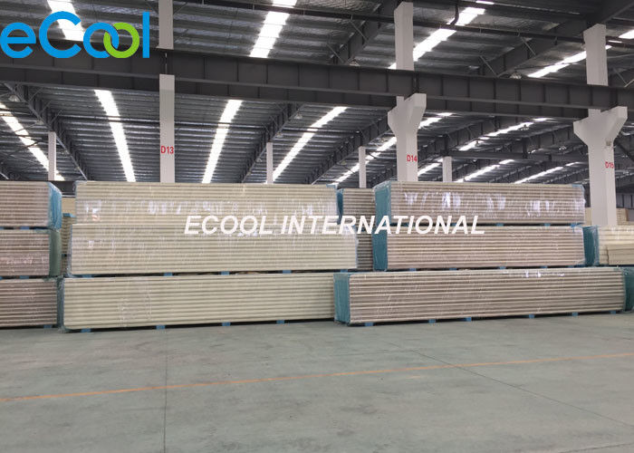 PIR  Cold Storage Panels Thermal Insulation Fireproofing For Cold Room
