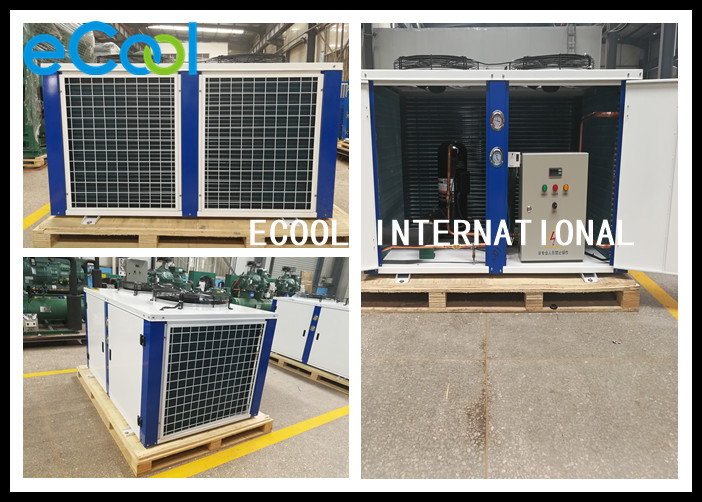 Unit High Temperature Air Condenser Unit , Cooler Condensing Unit 5.25Kw