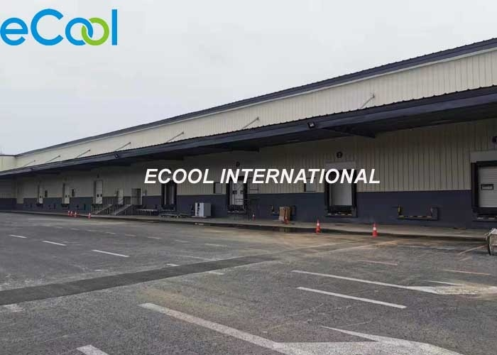 Prefabricated 200 tons / day Turn over Cold Storage Logistics and Distribution Center
