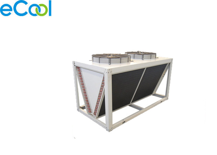 Cold Chain Warehouse Air Cooled Condenser With Simple Structure Easy Maintenance