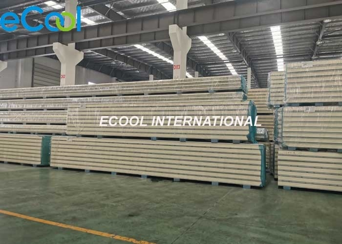 Polyurethane Cold Storage Panels For Cold Warehouse Refrigeration Units