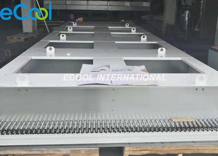 AIR COOLED Fin And Tube Heat Exchanger CO2 Or Secondary Refrigerant