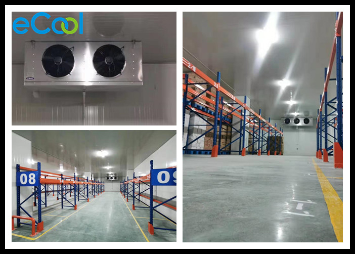 Longlife Cold Room Warehouse With PLC Control Refrigertion And Temperature